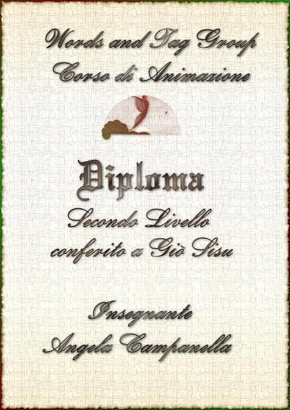 Diploma Corso di Animazioni - II^ Livello