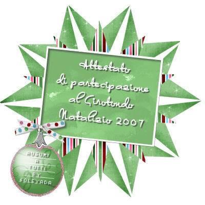 Partecipazione al Girotondo di Natale 2007